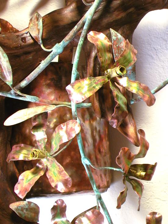 Copper Orchids