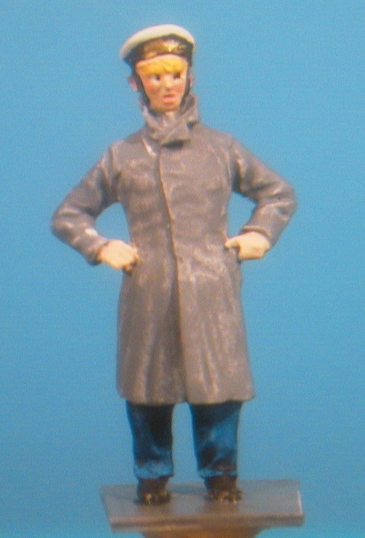 British Officer Miniature Figure