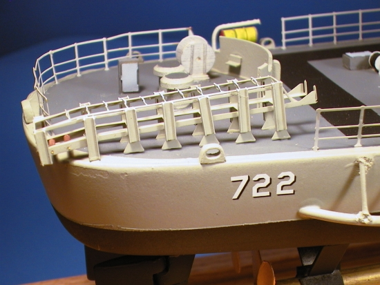 Destroyer Stern Detail