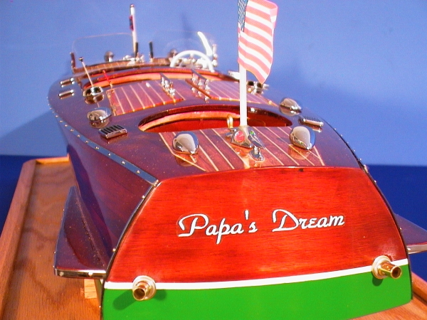 Chris Craft Ship Model