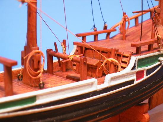 Deck Detail on Chinese Junk