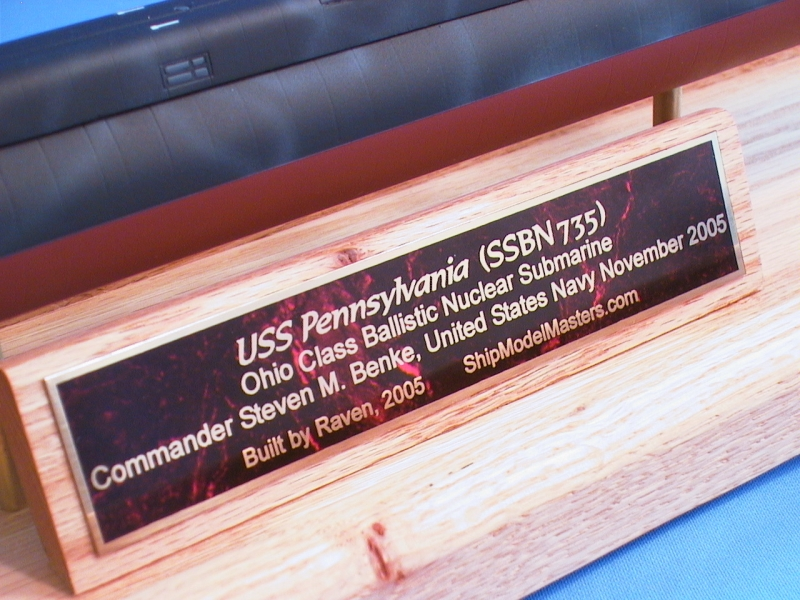 Customized Brass Engraved Nameplate
