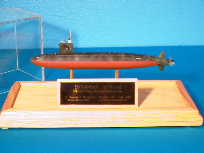 Submarine Model USS Pollack